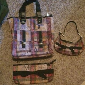L.a.m.b for lesportsac patchwork set